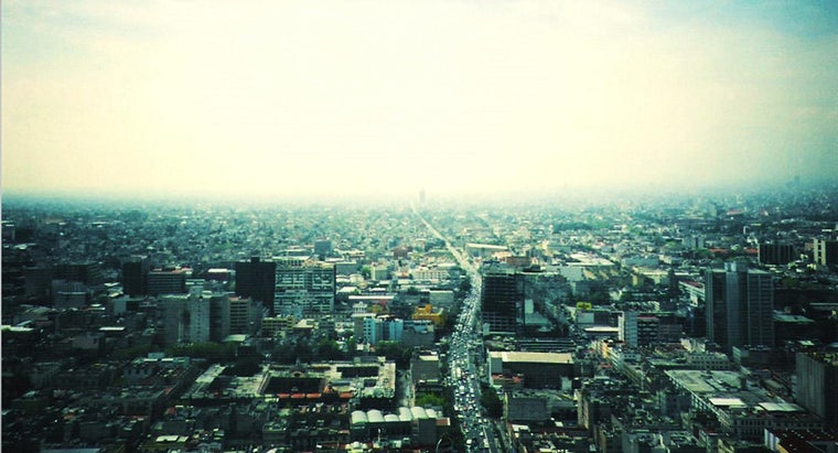 What Is the Relative Location of Mexico City?