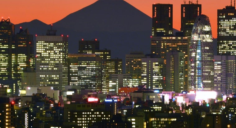What Is the Relative Location of Tokyo?