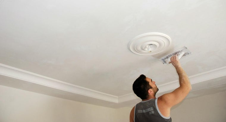 How Do You Remove Ceiling Spackle?