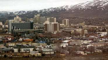 Is Reno or Los Angeles Further West?