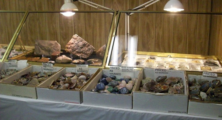 What Are Rocks, Minerals and Crystals Made Of?