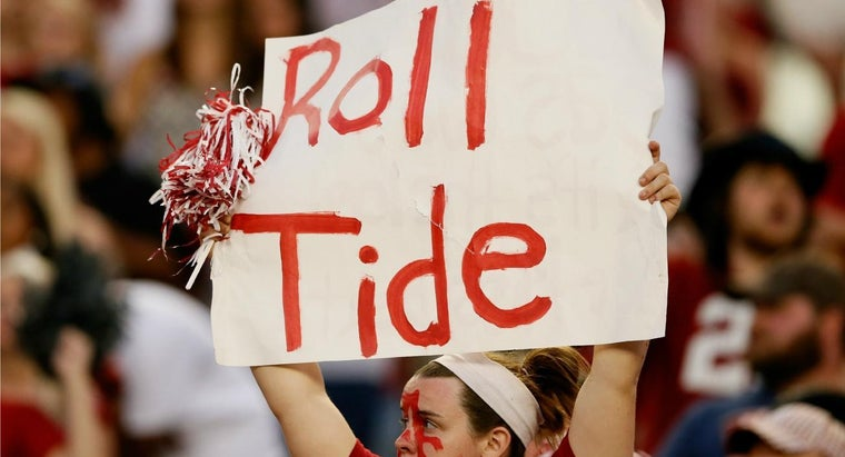 """What Does """"Roll Tide"""" Mean?"""