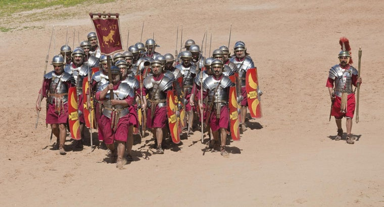 How Was the Roman Army Organized?