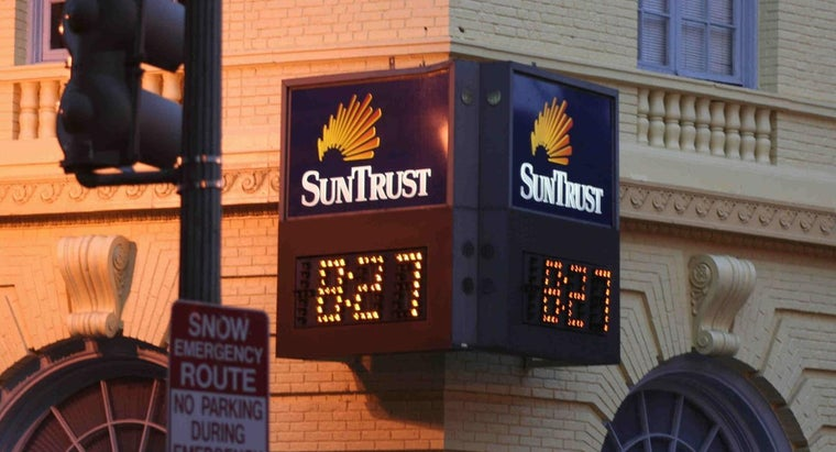 What Is the Routing Number for SunTrust Bank?