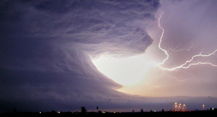 What Are Some Safety Tips During a Thunderstorm?