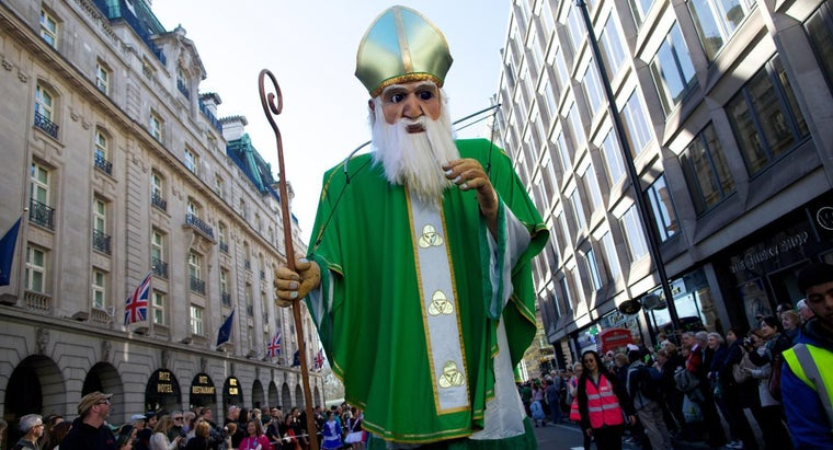 Was Saint Patrick's Name Really Patrick?