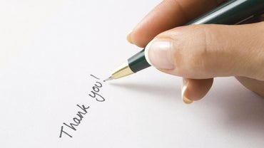 What Is a Sample Professional Thank You Letter?
