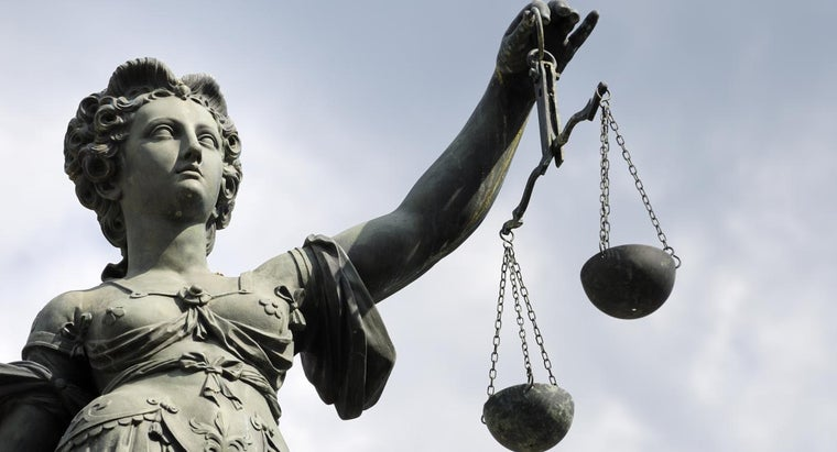 What Do the Scales of Justice Stand For?