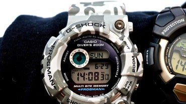 How to Set Time on a Casio G-Shock Watch