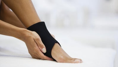 How Should One Treat a Sprained Foot?
