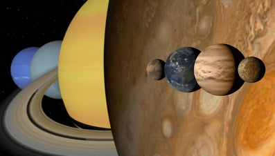 What Are the Sizes of the Nine Planets?