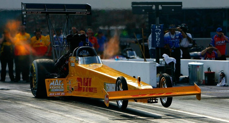 What Is The Speed Record For A Top Fuel Dragster Reference