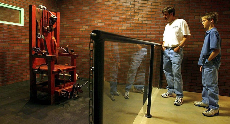 What States Still Use the Electric Chair?