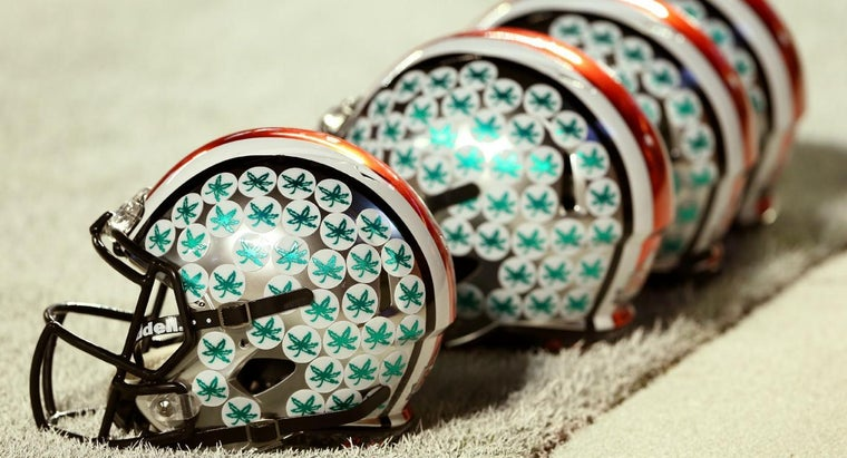 What Do the Stickers on Ohio State Helmets Mean?