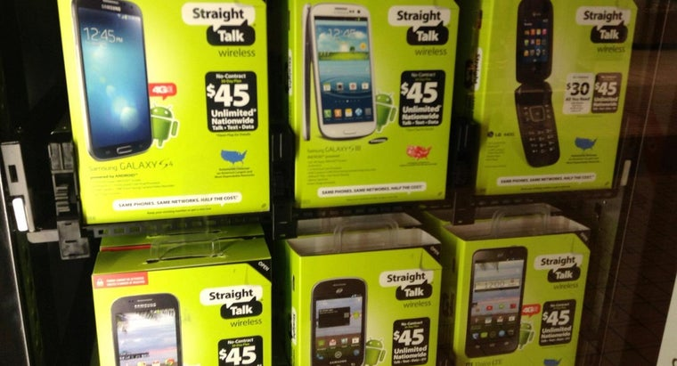 What Are Straight Talk Cell Phones?