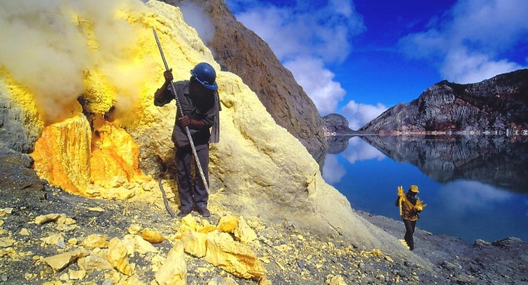 How Is Sulfur Mined?