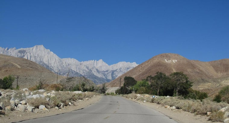 How Tall Is Mount Whitney?