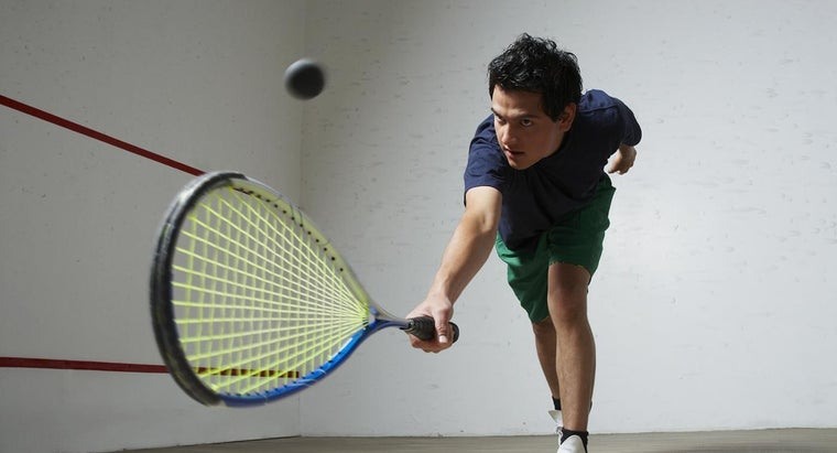 How Does Temperature Affect the Bounce Height of a Squash Ball?