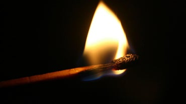 What Is the Temperature of a Burning Match?