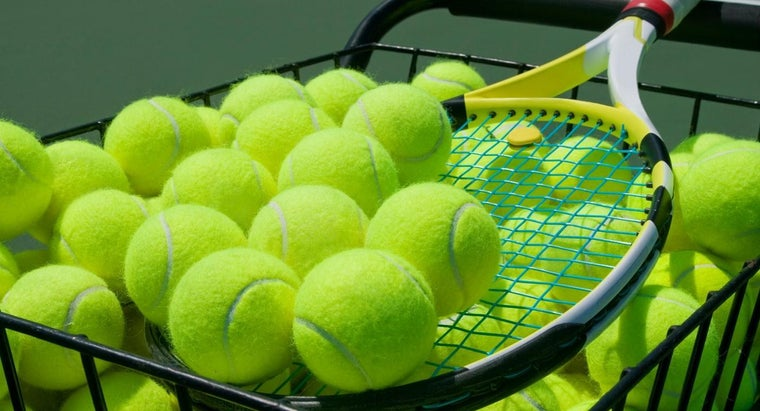 What Are Tennis Balls Made Of?