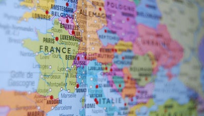 What Are Three Countries That Border France?
