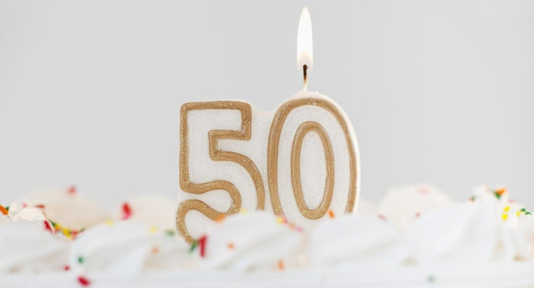 What Are Some Tips for Writing a Speech for Someone's 50th Birthday?