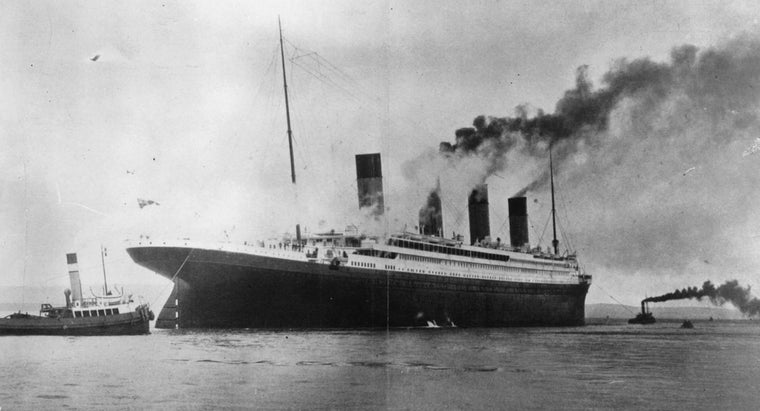 When Was the Titanic Finished Being Built?