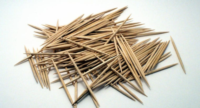 What Are Toothpicks Made From?