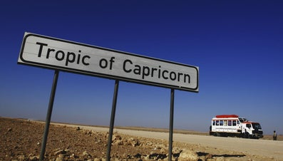 Where Is the Tropic of Capricorn Located?