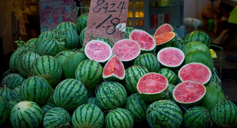 What Type of Fertilizer Is Best for Watermelon?