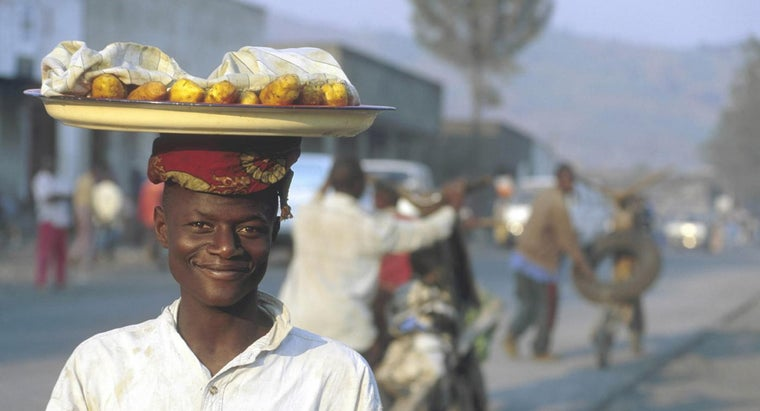 What Type of Food Is Consumed in Congo?