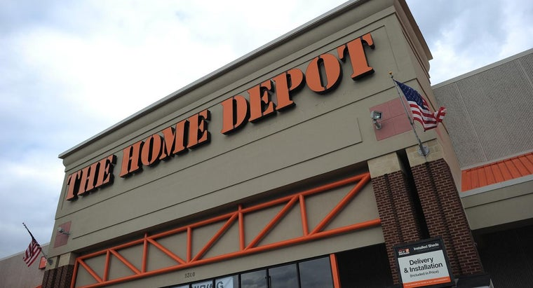 What Types of Items Does Home Depot Sell?