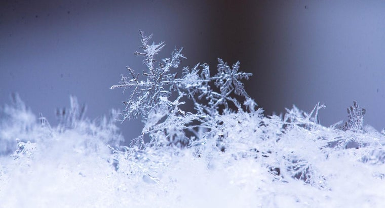 What Are the Types of Snowflakes?