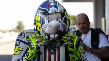 Why Does Valentino Rossi Have a Donkey on His Helmet?