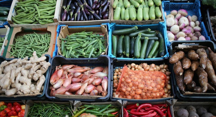 What Vegetables Are Low in Carbohydrates?