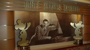 What Was Walt Disney's Ambulance for the Red Cross Covered With?