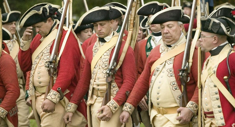 Why Were the British Marching Toward Lexington and Concord?