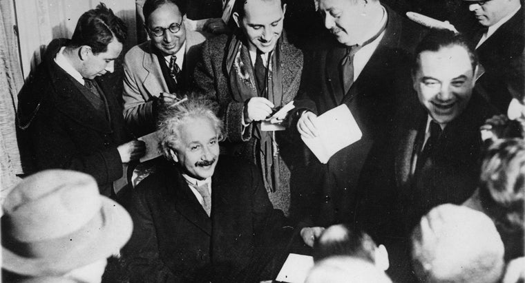 What Were the Character Traits of Albert Einstein?