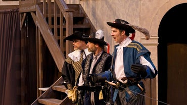 What Are the Names of the Three Musketeers?
