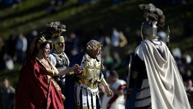 What Clothes Did the Romans Wear?