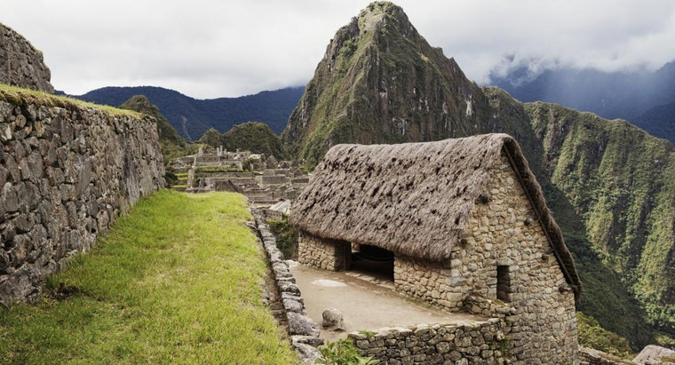 What Did the Incas Live In?