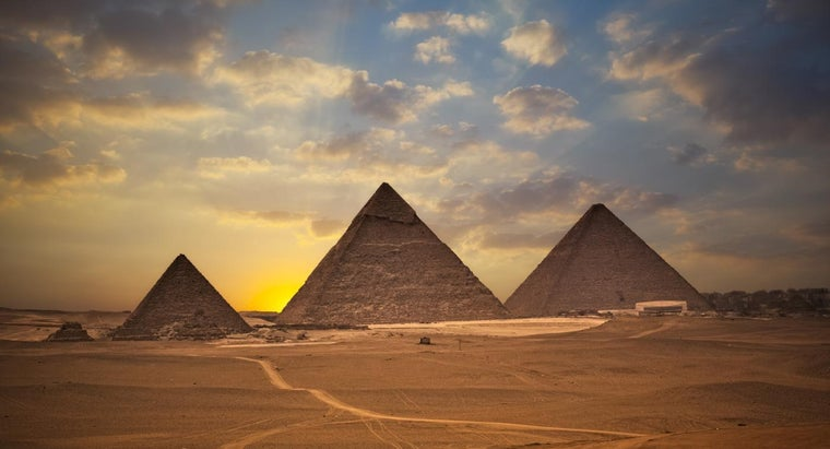 What Direction Do the Pyramids Face?