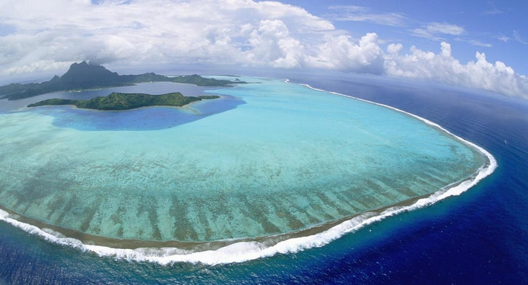 What Is a Ring-Shaped Coral Island Called?