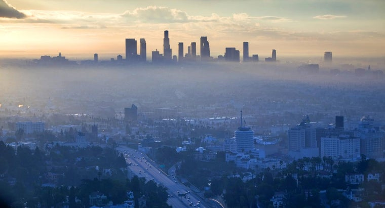 What Is Smog Made Of?