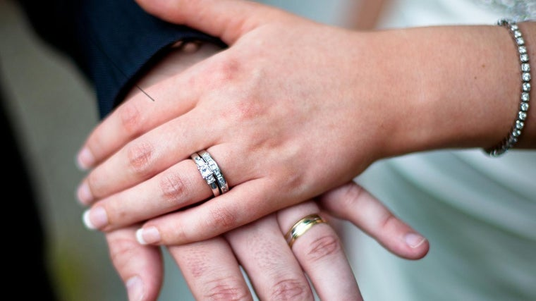 What Is The Proper Way To Wear A Wedding Ring Set Reference Com
