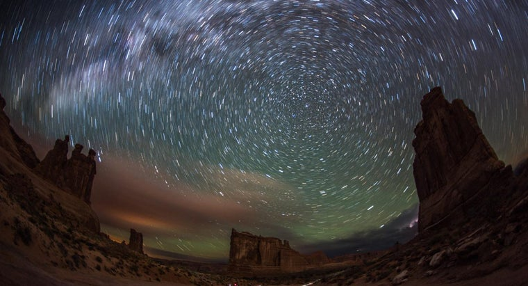 What Makes the Stars Appear to Move From East to West Across the Night Sky?