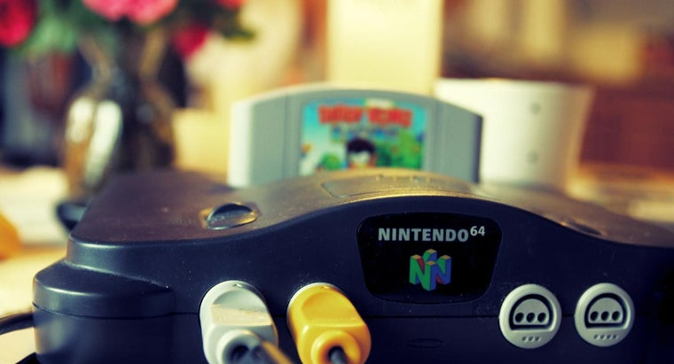 What Year Did the Nintendo 64 Come Out?