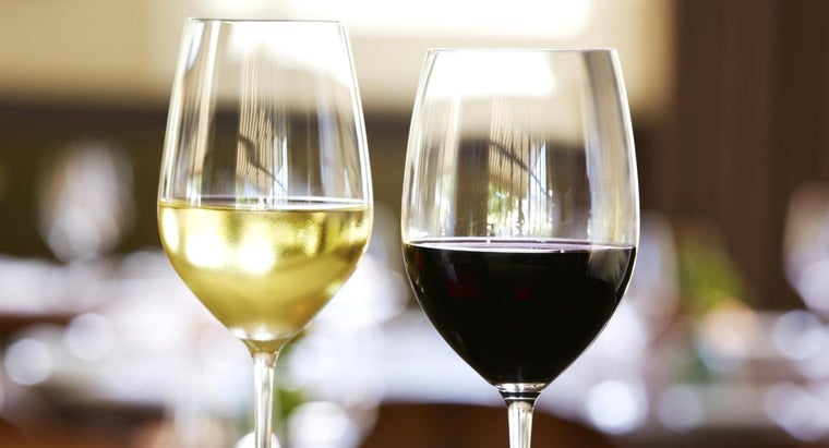 Which Has More Sugar, Red or White Wine?