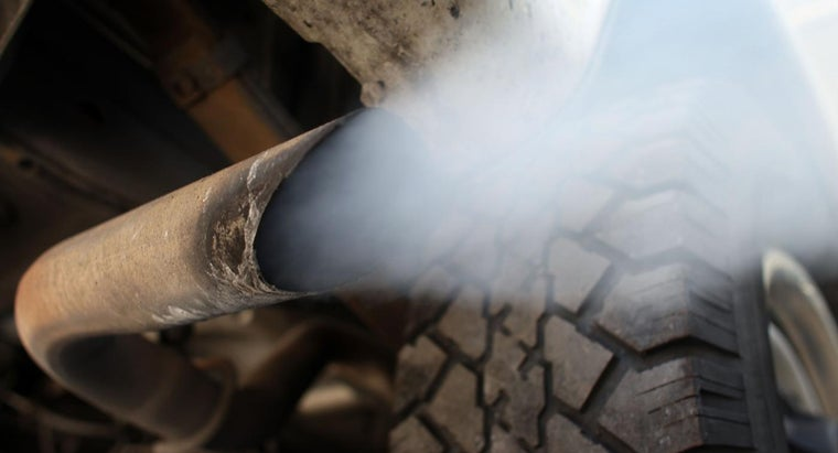 Why Does White Smoke Come From an Exhaust Pipe?