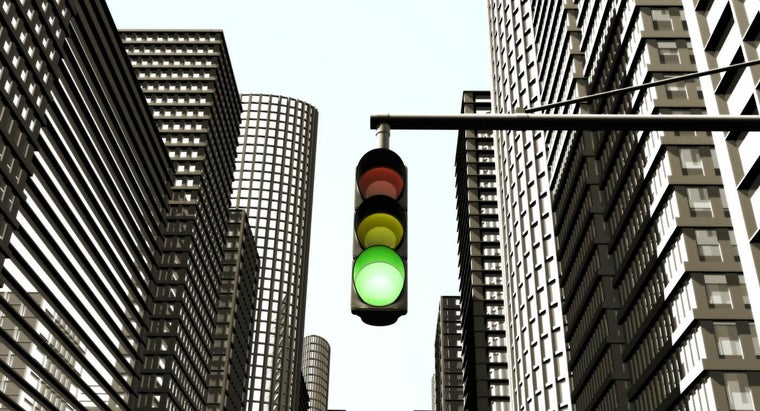 Why Are Traffic Lights Green, Yellow and Red?